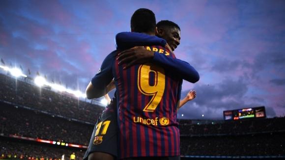 Нападателят на Барселона Луис Суарес стана поредният, който се обърна