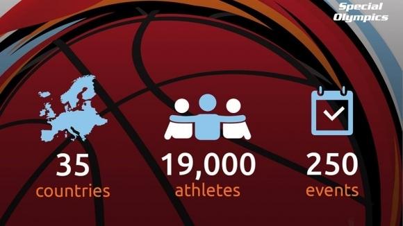 Спешъл Олимпикс България в партньорство с Българската федерация по баскетбол