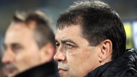 Селекционерът на България Петър Хубчев обяви след домакинското равенство (1:1)
