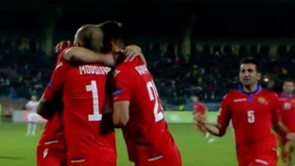 Отборите на Лихтенщайн и Армения завършиха наравно 2:2 в последна