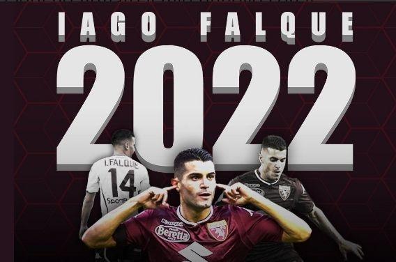 Крилото на Торино Яго Фалке подписа нов договор с тима.