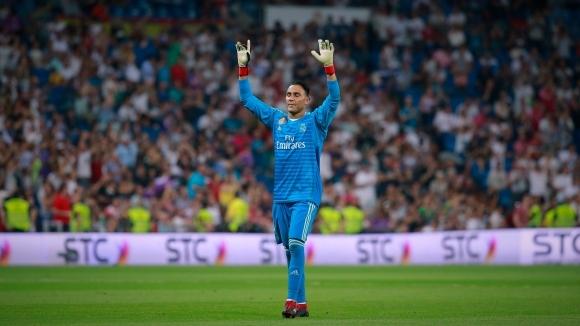 Реал Мадрид предложи нов договор на вратаря Кейлор Навас, съобщи