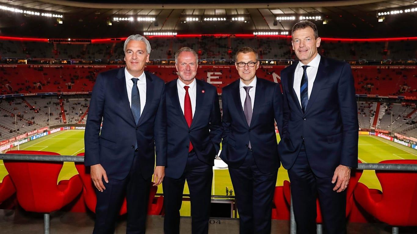 Годишният финансов оборот на германския шампион Байерн (Мюнхен) за сезон