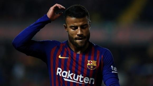 Полузащитникът на Барселона Рафиня Алкантара е недоволен от статута си