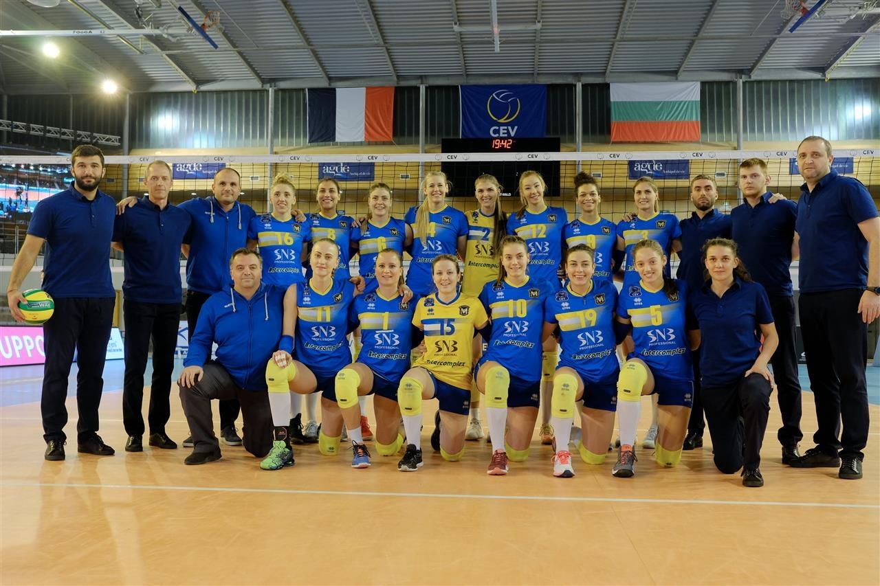 Волейболният отбор на Марица (Пловдив) стартира със загуба тазгодишното си