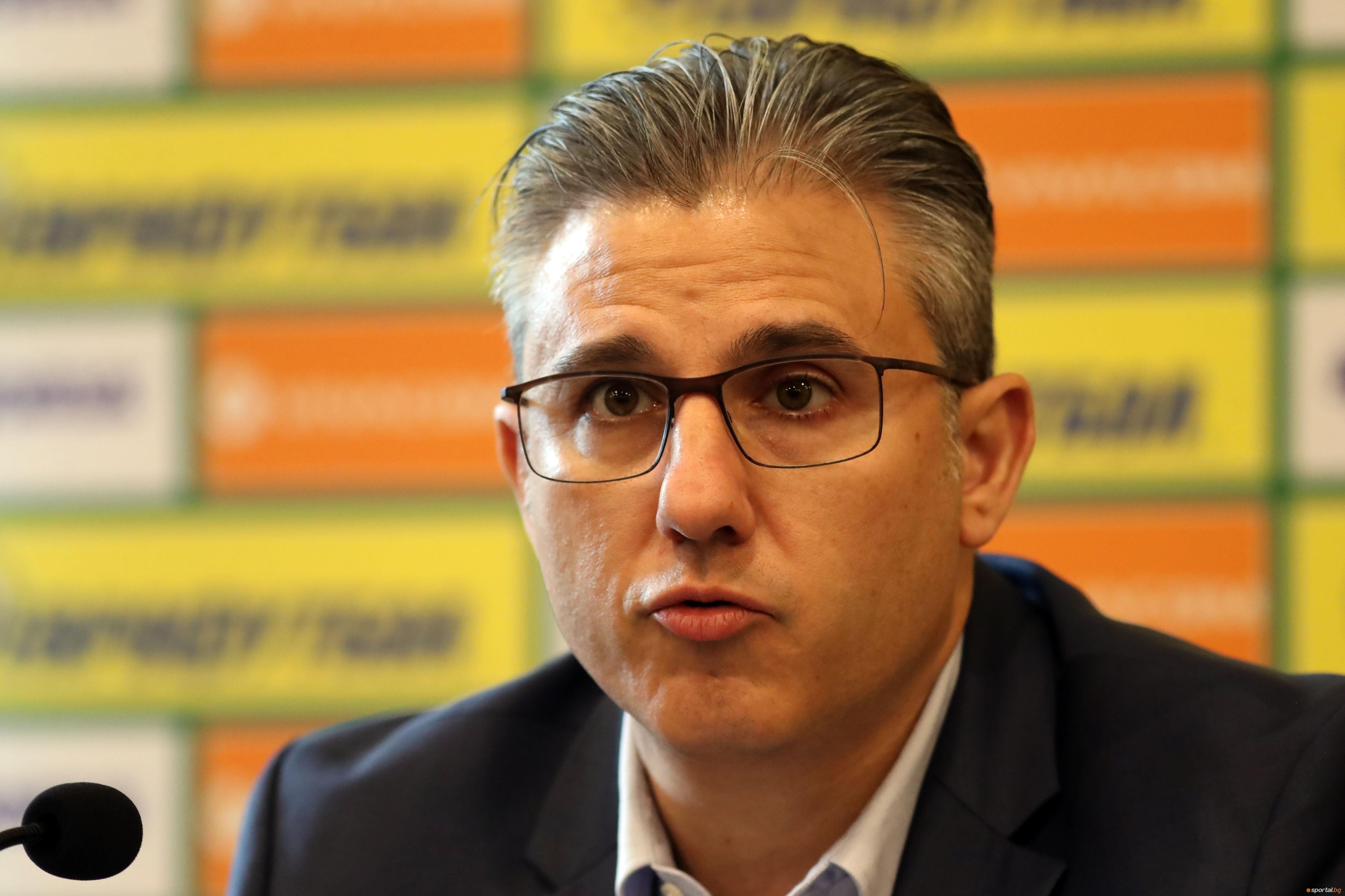 Заместник изпълнителният директор на БФС Павел Колев се изказа ласкаво