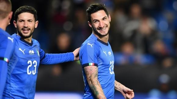 Отборът на Италия победи с 1:0 САЩ в приятелска среща,