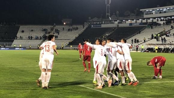 Отборът на Сърбия записа убедителен успех с 4:1 над гостуващия
