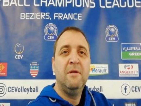 Треньорът на волейболния Марица Иван Петков сподели впечатленията си и