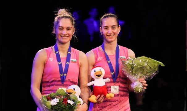 Европейските шампионки Габриела Стоева и Стефани Стоева спечелиха титла на