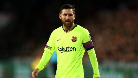 Аржентинската мегазвезда на Барселона Лионел Меси се разписа веднъж при
