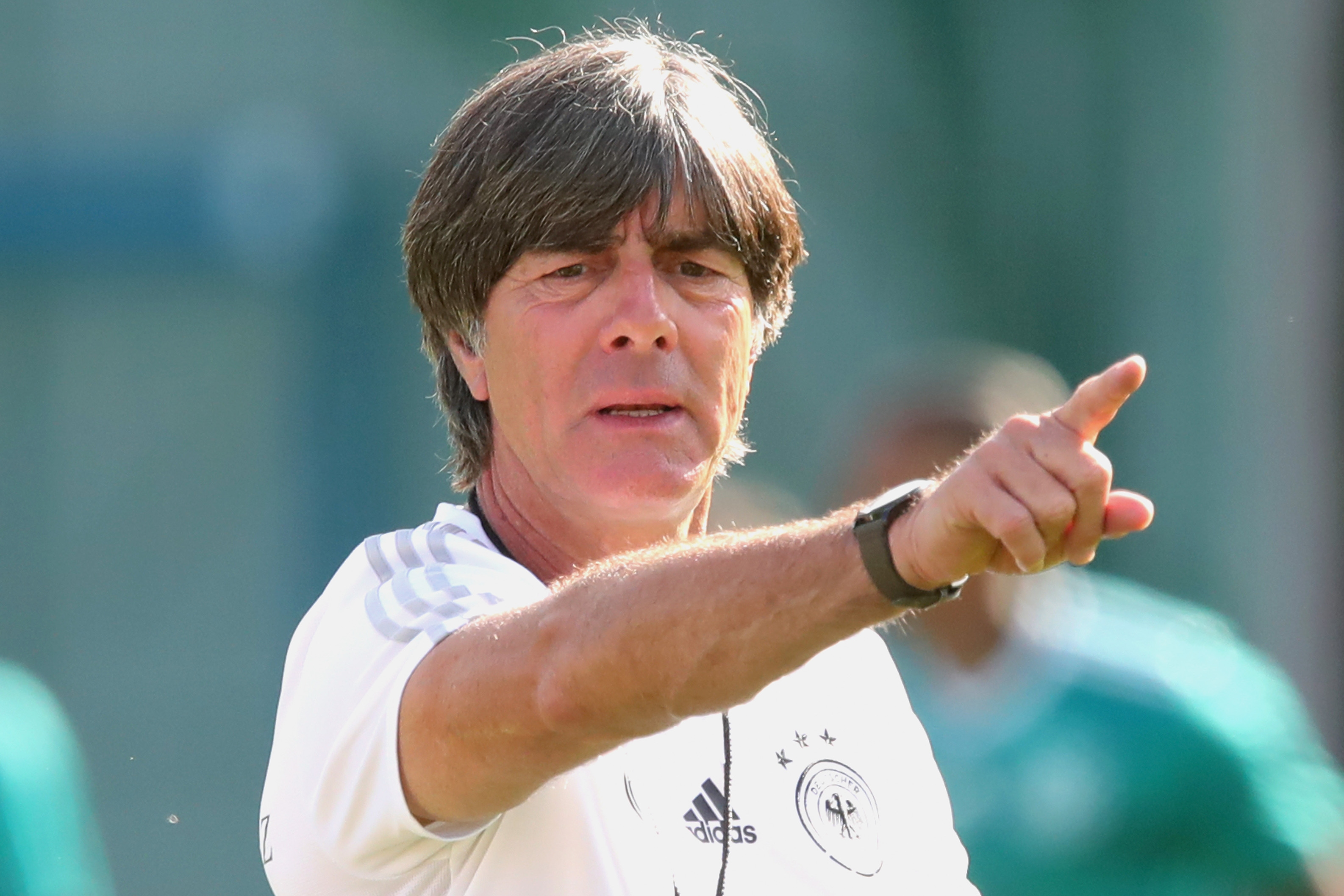 Селекционерът на германския национален отбор Йоахим Льов отчете, че времето