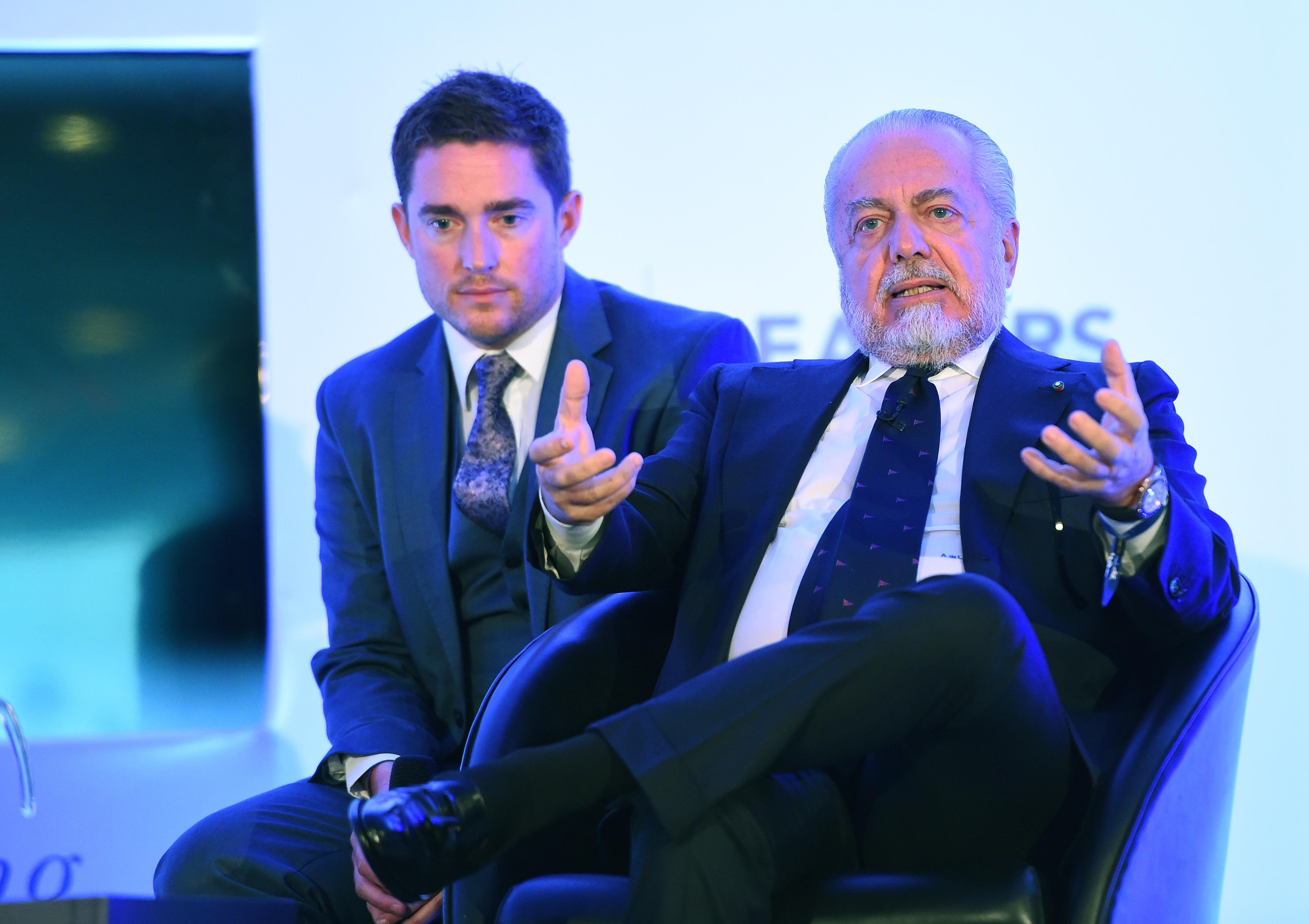 Президентът на Наполи Аурелио де Лаурентис изрази песимизъм относно правилата