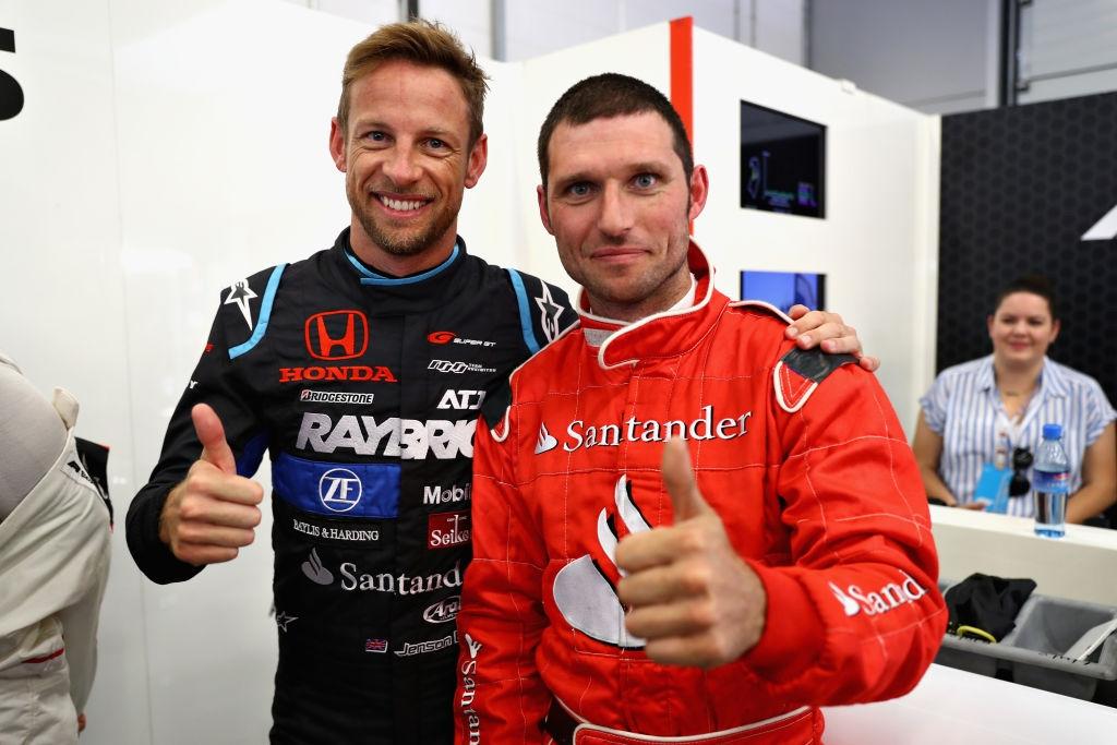 Шампионът от сезон 2009 във Формула 1 и сегашен пилот