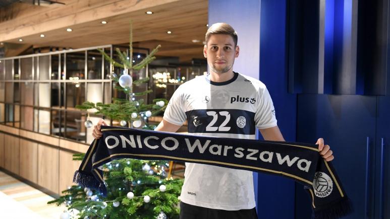 От вчера националът Николай Пенчев е волейболист на Онико (Варшава).