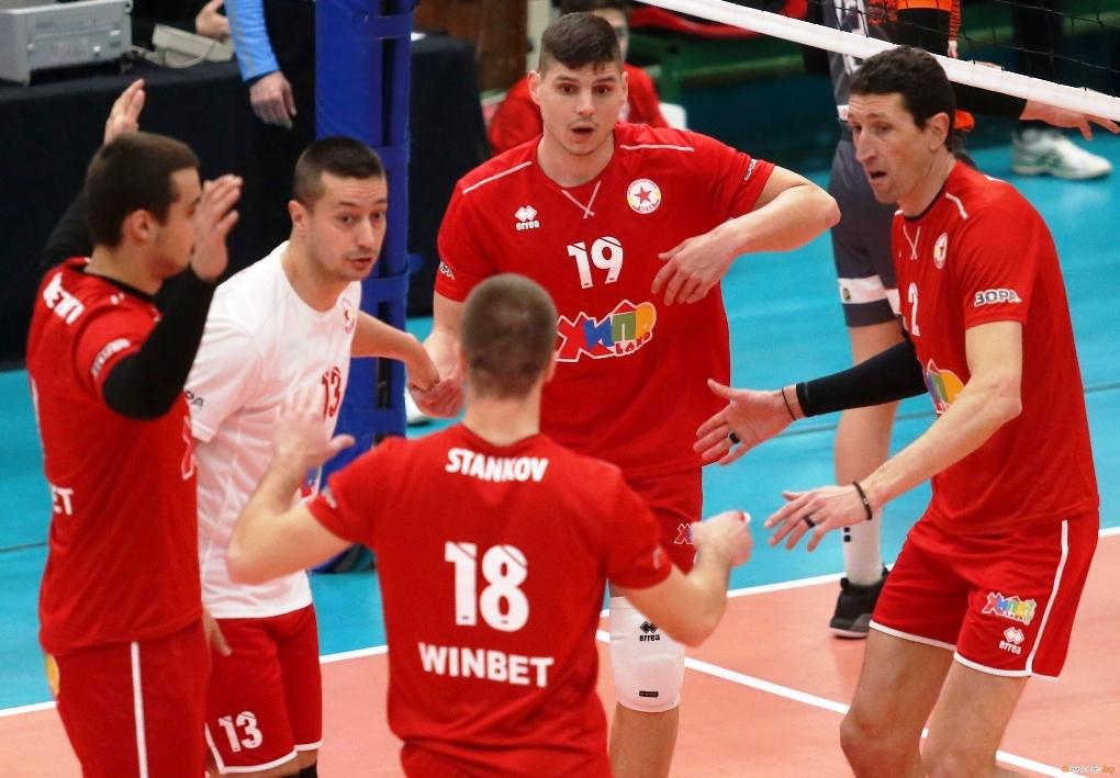 Волейболният отбор на ЦСКА записа 7-а поредна и общо 8-а
