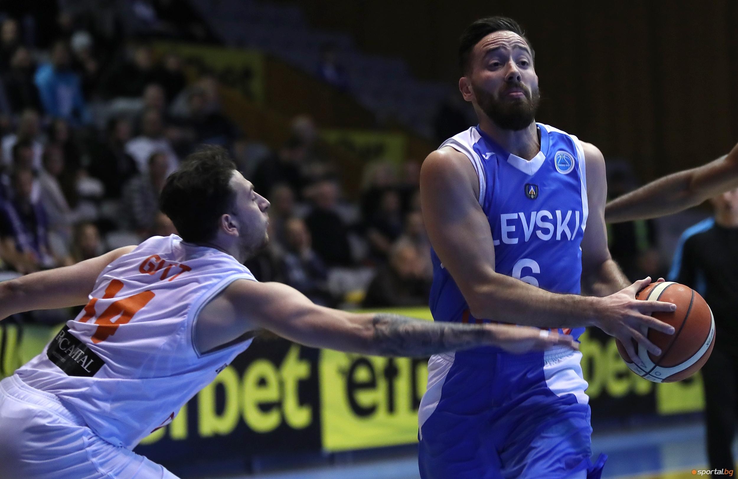 Българският шампион Левски Лукойл стартира с поражение участието си във
