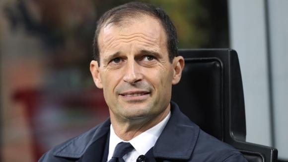 Треньорът на Ювентус Масимилиано Алегри не прие твърде драматично загубата