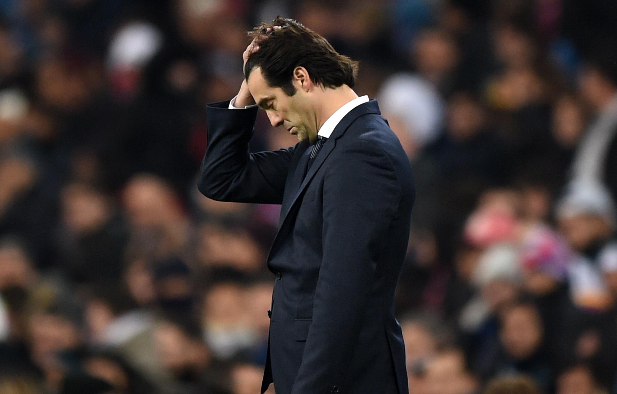 Треньорът на Реал Мадрид Сантиаго Солари пое вината за загубата