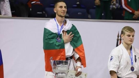 Българинът Кристиян Дойчев стана новият европейски шампион по карате киокушин