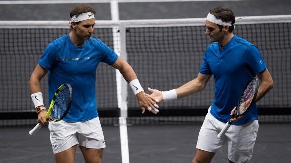 Роджър Федерер и Рафаел Надал отново ще са в един