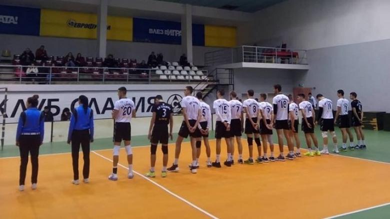 Волейболистите на Славия се класираха за четвъртия кръг в турнира