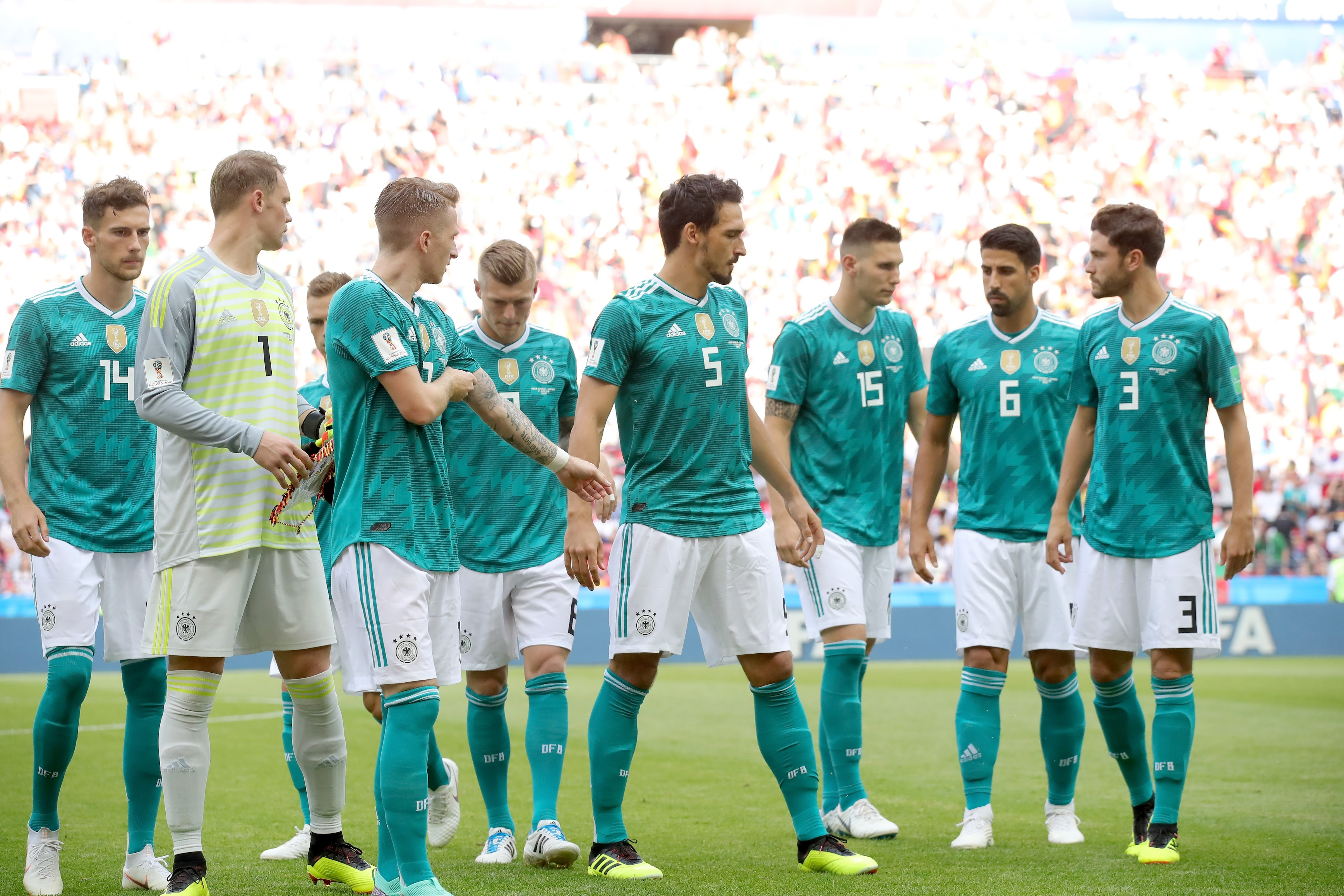 Националният отбор на Германия по футбол ще продължи да използва