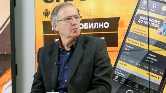 Бившият наставник на Лудогорец - Георги Дерменджиев, гостува в предаването