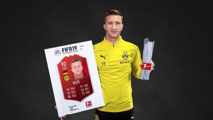Нападателят на Борусия (Дортмунд) Марко Ройс беше избран за най-добър