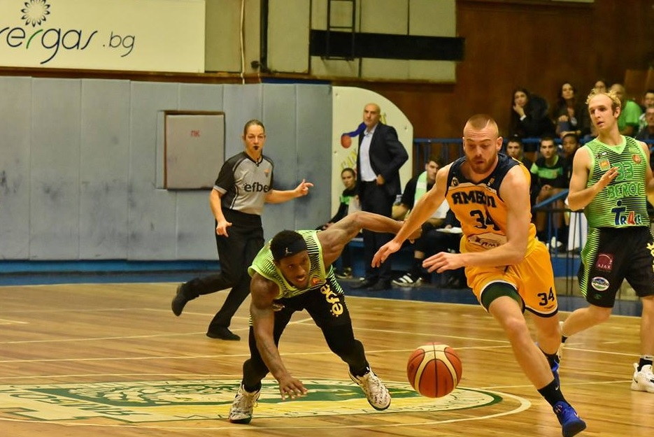 Отборът на Ямбол записа втора поредна победа в Националната Баскетболна