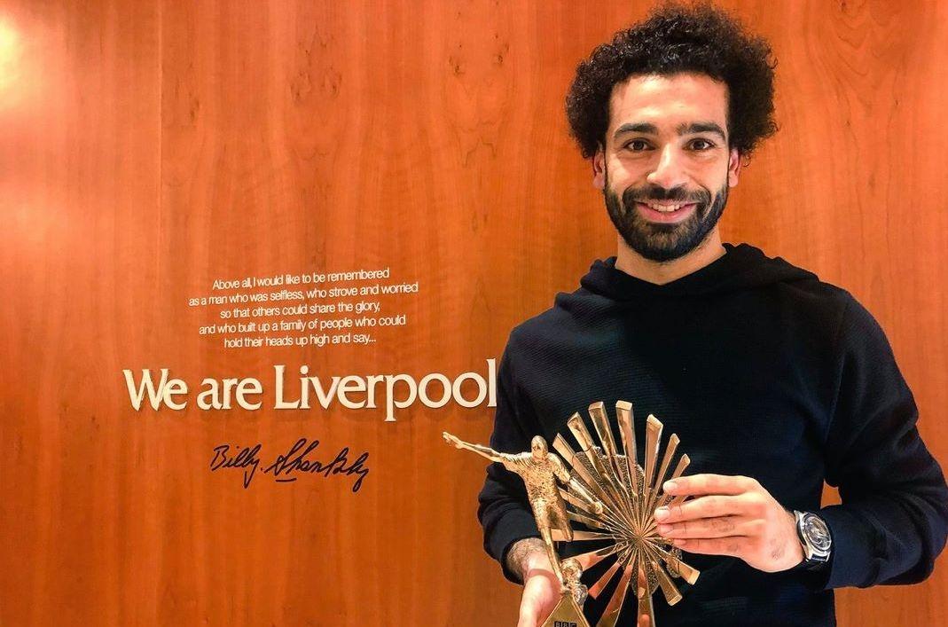 Звездата на Ливърпул Мохамед Салах стана най-добър футболист на Африка