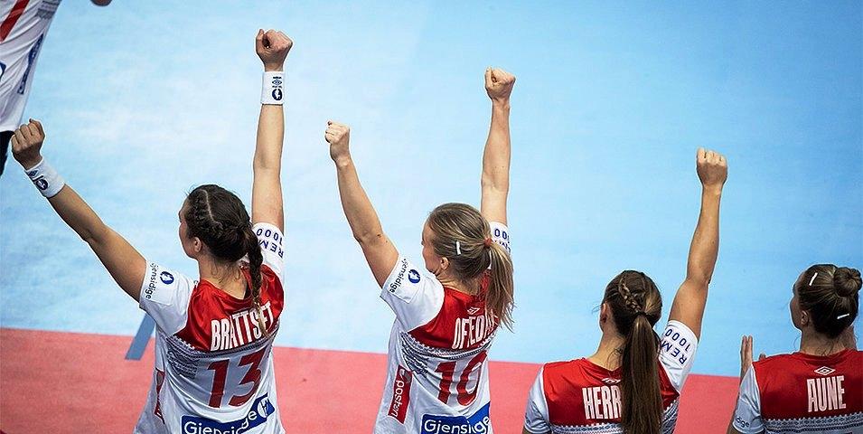 Световният хандбален вицешампион за жени Норвегия завърши на 5-о място