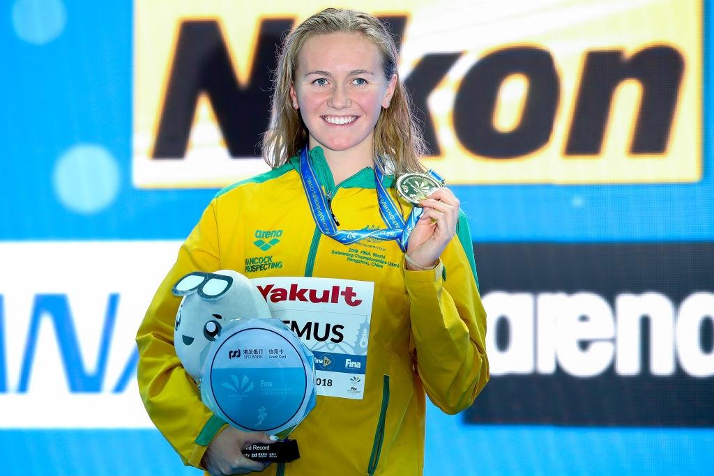 Австралийската плувкиня Ариарне Титмъс счупи втори световен рекорд в рамките