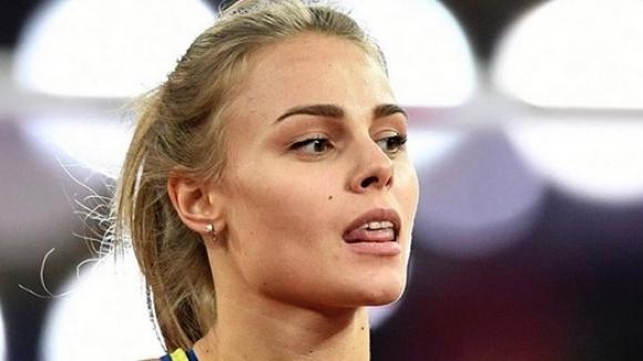 Една от любимките на мъжката аудитория в атлетиката Юлия Левченко