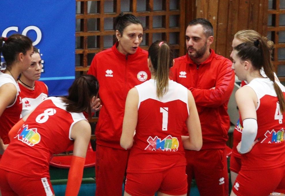 Треньорката на волейболния ЦСКА Юлия Иванова коментира загубата във