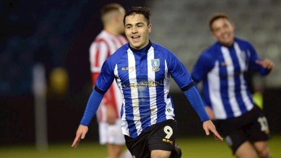 Българският юношески национал Ияд Хамуд вкара гол за 18-годишните на