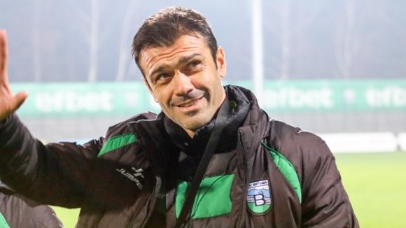 Треньорът на Витоша (Бистрица) Росен Кирилов беше доволен след равенството