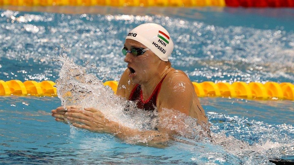 Катинка Хосу завоюва четвърто индивидуално злато на световното първенство в