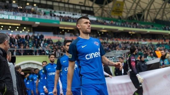 Българският национал Страхил Попов и Касъмпаша загубиха с 2:3 гостуването
