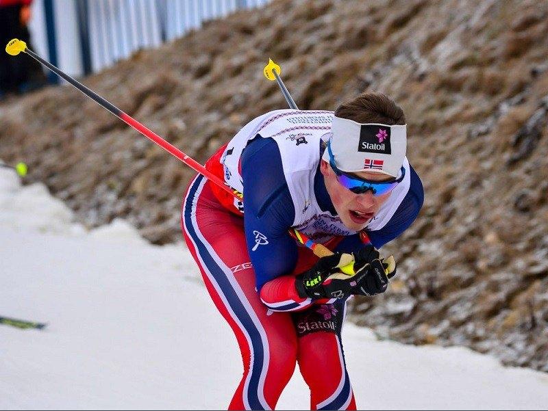 Олимпийските шампиони Йоханес Клаебо (Норвегия) и Стина Нилсон (Швеция) спечелиха