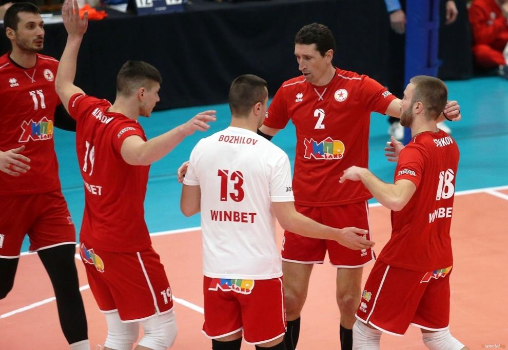 Волейболният отбор на ЦСКА записа бърза 8-а поредна и общо