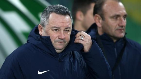 Наставникът на Левски Славиша Стоянович обяви след поражението с 2:1