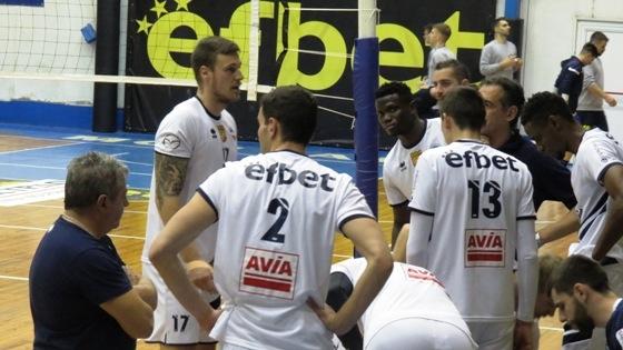 Волейболистите на Марек Юнион Ивкони (Дупница) прекъсна негативната си серия