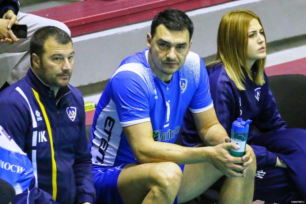 Волейболистите на Левски загубиха при гостуването си на шампиона Нефтохимик