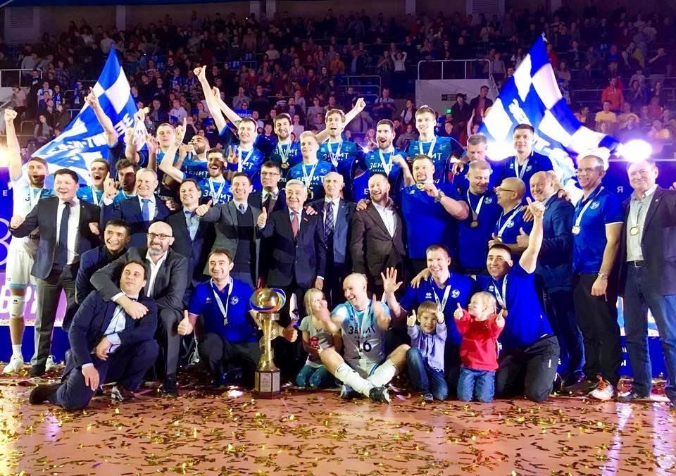 Волейболният гранд Зенит (Казан) спечели за 5-и пореден път турнира