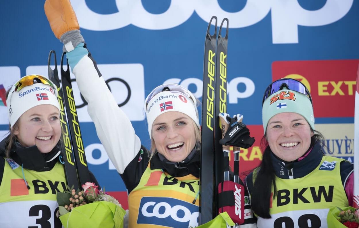 Норвежката Терезе Йохауг спечели интервалния старт на 10 километра свободен