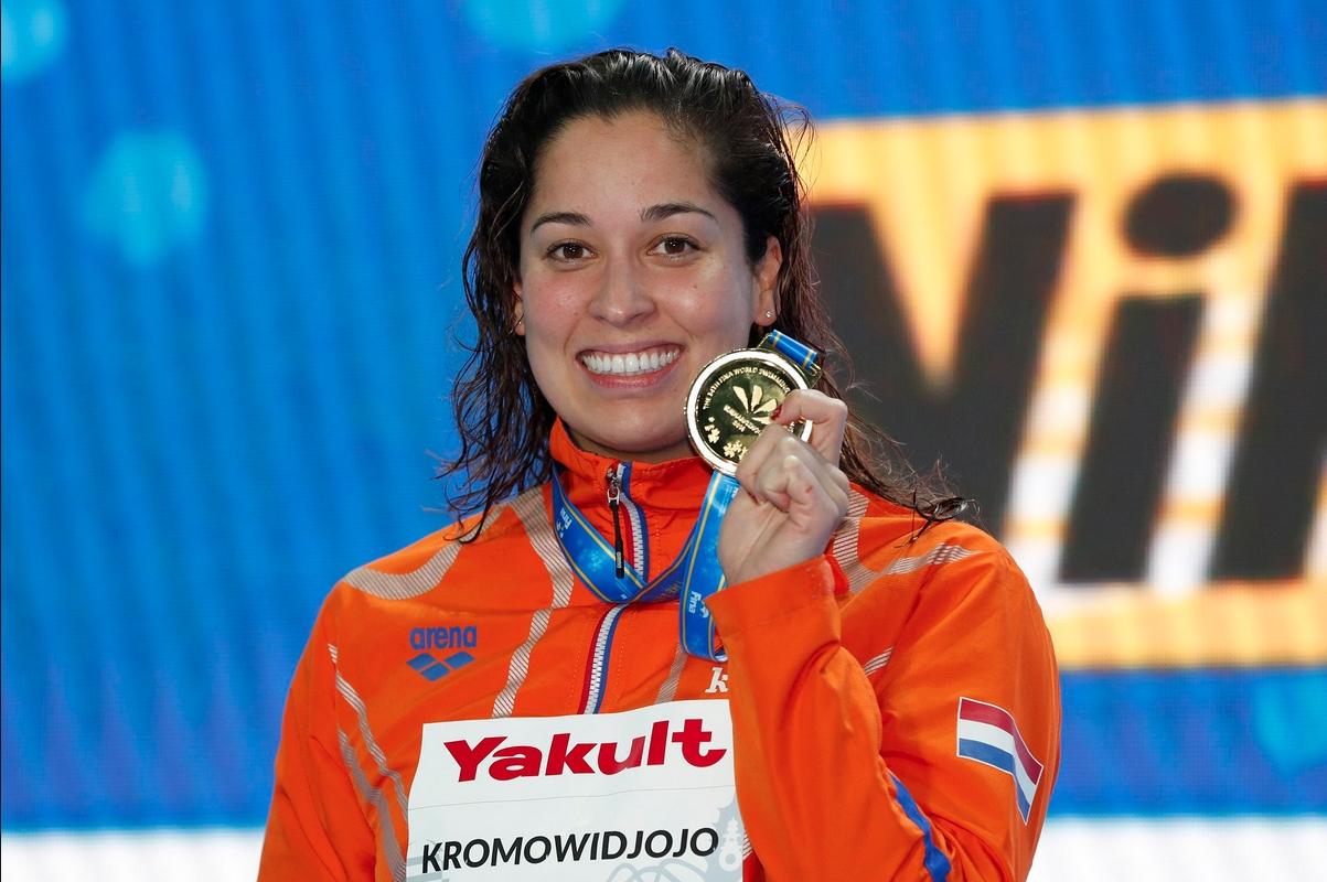 Раноми Кромовиджоджо завоюва трето злато от световното първенство по плуване