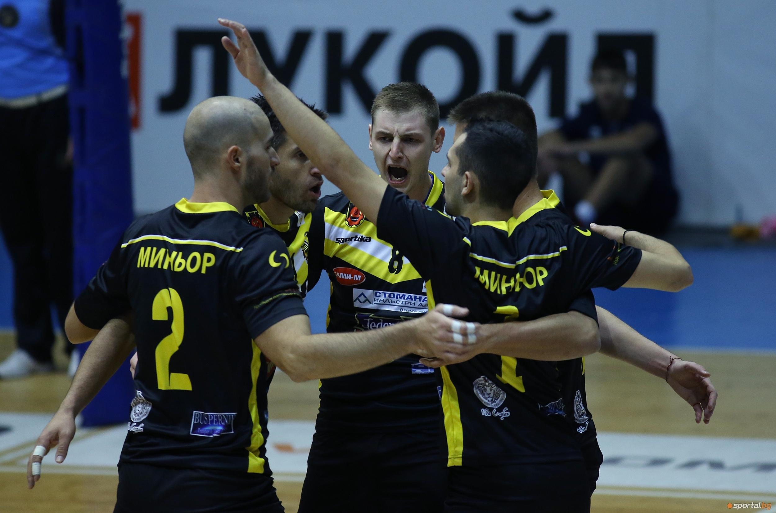 Вторият състав на мъжкия волейболен отбор на Миньор /Перник/ ще