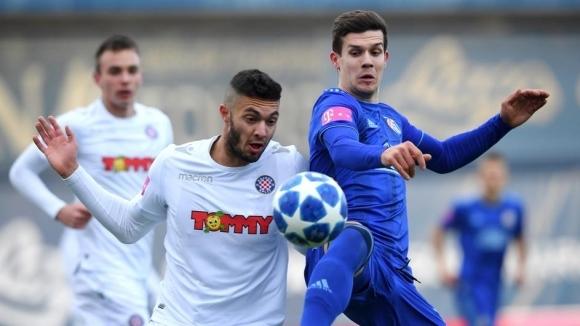 Динамо (Загреб) спечели с минималното 1:0 голямото хърватско дерби с