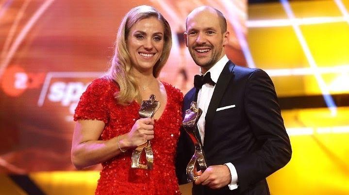 Шампионката от Откритото първенство на Великобритания по тенис Анжелик Кербер,